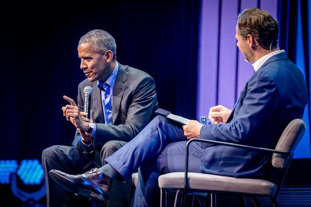 FTL2018 . met Obama