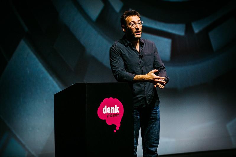 Simon Sinek tijdens Purpose Driven Leadership