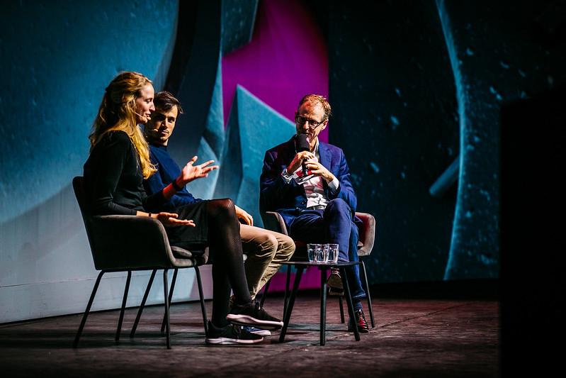Lex Hoefsloot en Maijke Receveur van Lightyear bij Purpose Driven Leadership