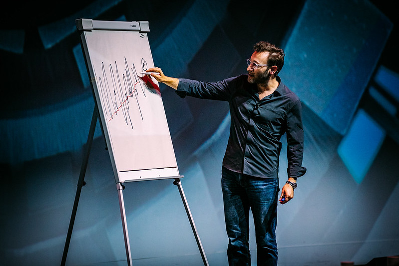 Simon Sinek op Purpose Driven Leadership, denkproducties
