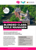 De Blended class: agile managen brochure