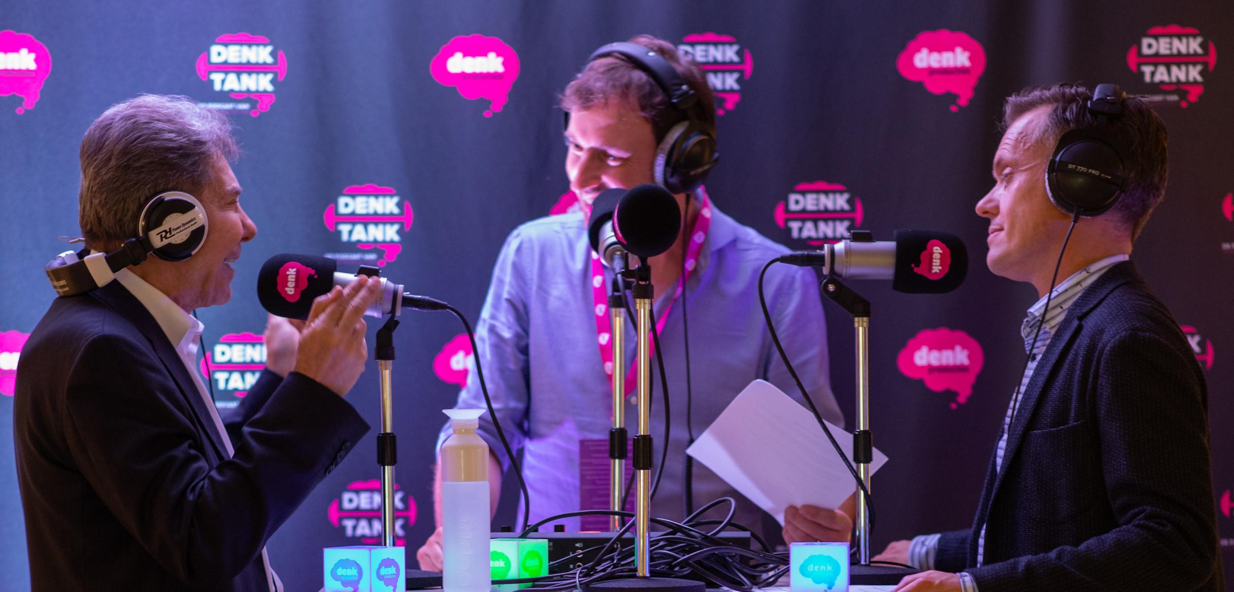 DenkTank #2 podcast met Robert Cialdini