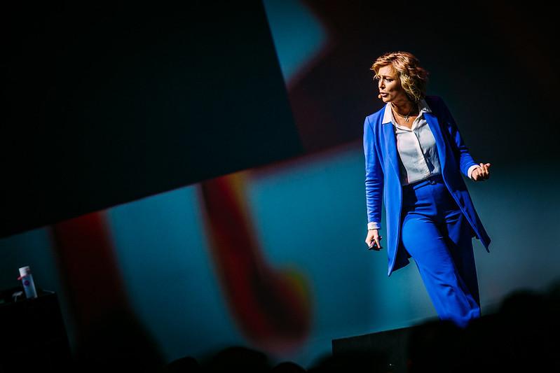 Jitske Kramer tijdens Purpose Driven Leadership